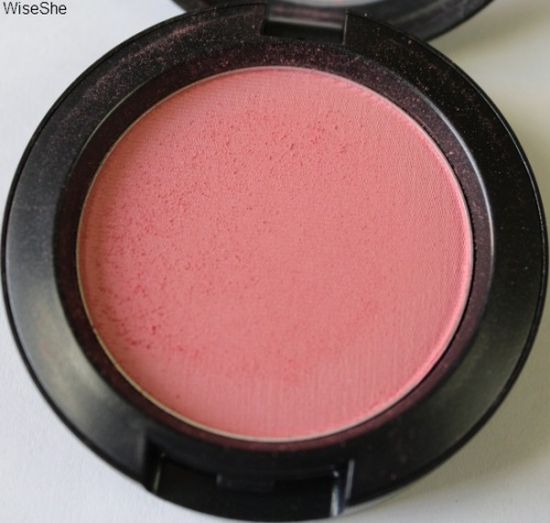 MAC Fleur Power blush review + mac cosmetics + blush