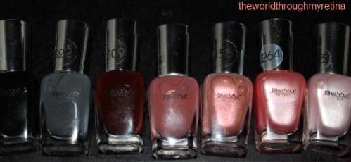 beyu nail polishes
