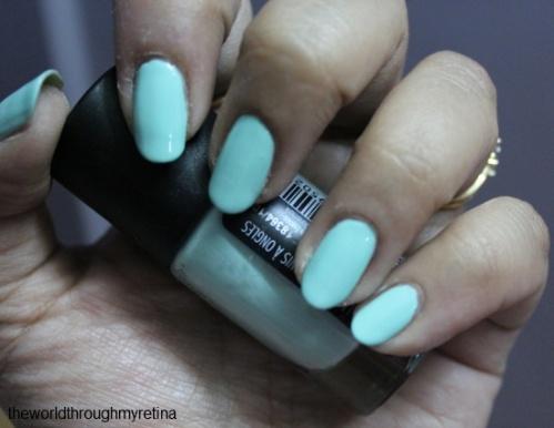 GOSH nail polish review
