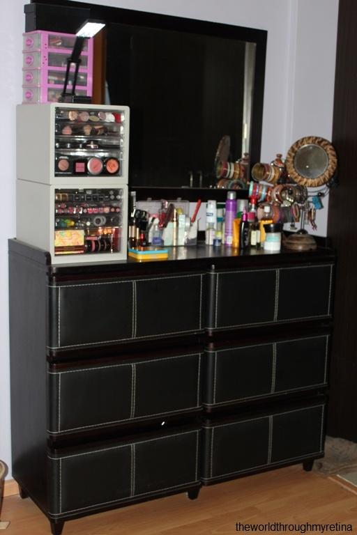 Makeup Collection u0026 Storage )   Full size is 512 × 768 pixels & My vanity + vanity + makeup storage   The World Through My Retina