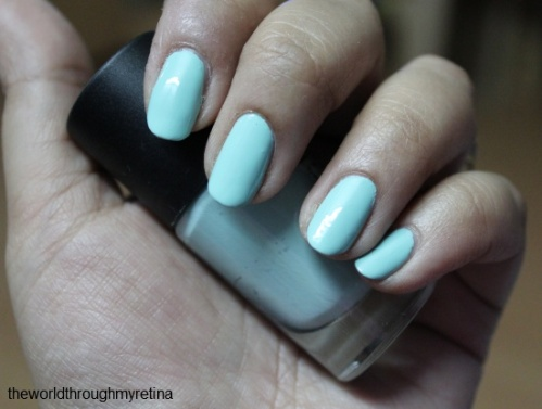 nail polish + gosh + miss minty
