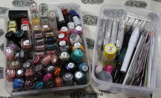 Nails Nail Paints Nail Art Storage The World Through My Retina