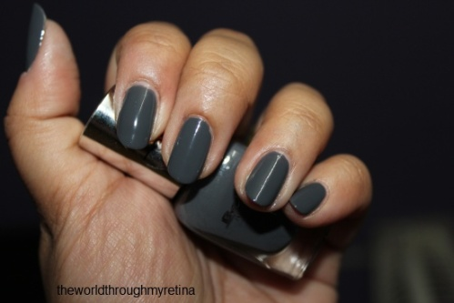 beyu 322 grey nail polish review