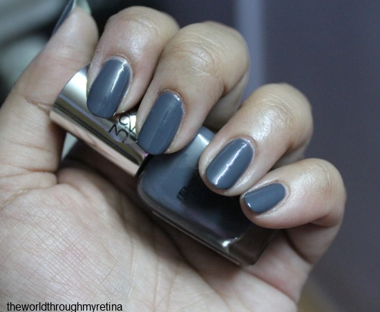 beyu 322 grey nail polish