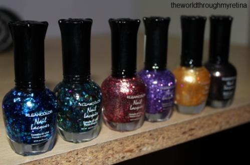 kleancolor nail polishes