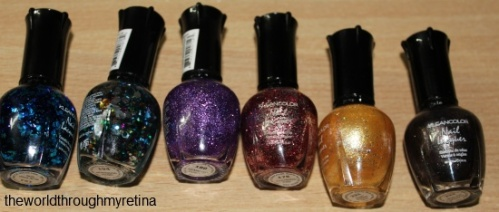 kleancolor nailpolishes holo