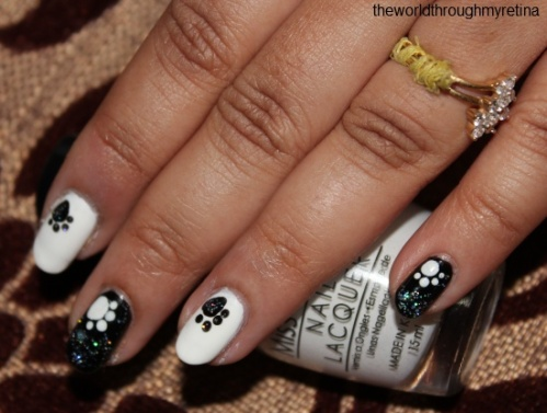 Paws nailart