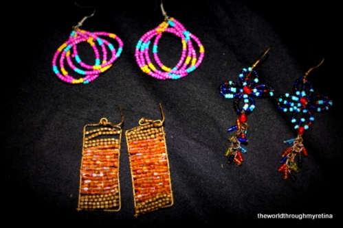 deepika designs jewellery+ beaded earrings