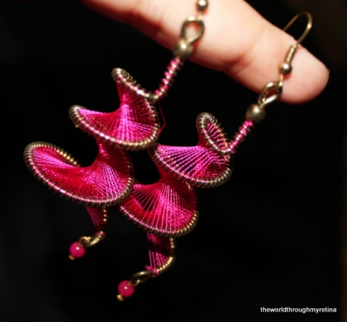 threadwork earrings